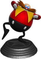 Sonic Generations Classic Eggman Statue