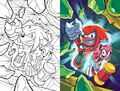 Sonic Universe 87 Cover (Raw)