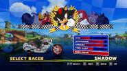 Sonic and Sega All Stars Racing character select 17