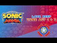 Lava Reef Zone Act 1 & 2 - Sonic Mania