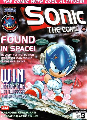 Sonic the Comic Issue 162