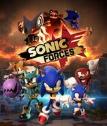Sonic Forces - Artwork