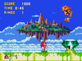 Sky Sanctuary Zone (Sonic & Knuckles)