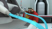 S1E11 Eggman freeze ray construct