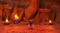 SB S1E13 Team Sonic volcano floor
