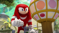 SB S1E38 Knuckles new years ball