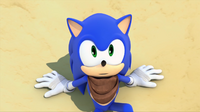 SB S1E11 Sonic surprised