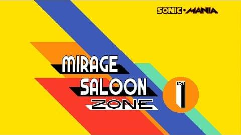SM - Mirage Saloon Zone Act 1 & 2 (Knuckles)
