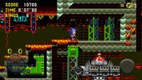 Sonic CD Mobile Sonic Collision Chaos Zone 3 Bad future 2