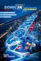 Sonic Run 5k - Pôster Promocional da Corrida