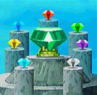 Sonic X Leapster Master Emerald Shrine 8