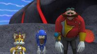 S1E11 Tails Sonic Eggman bored