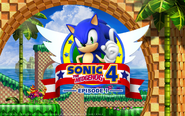 Sonic 4 tapeta 2