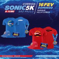 Sonic Run 5k - Kits da Corrida