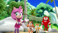 SB S1E19 Team Sonic needs the volleyball