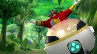 SB S1E22 Eggman Eggmobile joy