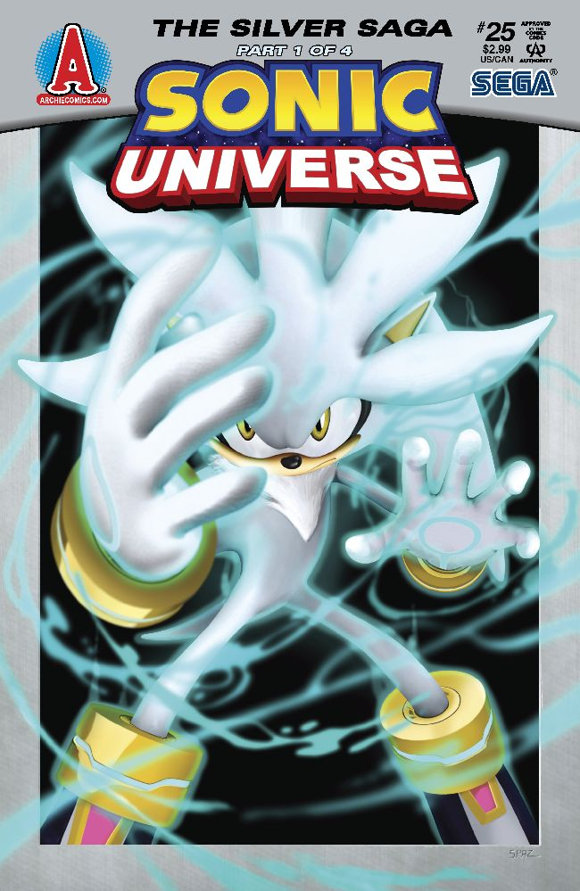 Sonic Universe Issue 25