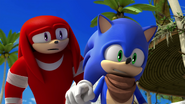 S1E03 Knuckles and Sonic