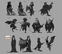 Sonic movie Longclaw concepts
