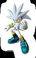 Silver Sonic Riders Zero Gravity