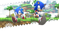 SonicGenerations Sega background