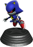 Sonic Generations Metal Sonic Statue