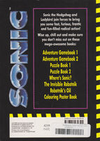 Sonic the Story back cover
