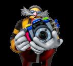 Doctor Eggman Nega's camera