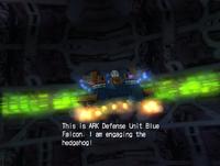 Blue Falcon - The ARK