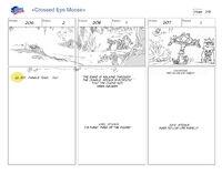 Cross Eyed Moose storyboard 13
