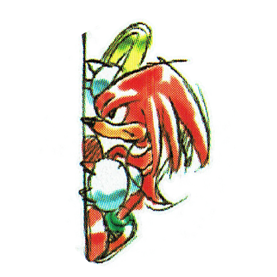 KC Knuckles (Japanese manual).png