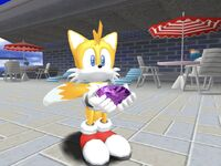 SADX Tails with Emerald
