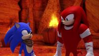 SB S1E13 Sonic Knuckles argument close
