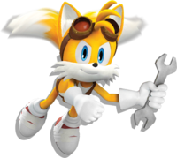 Sonic Dash2 Boom Tails with wrench