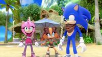 SB S1E19 Amy Sticks Sonic tense