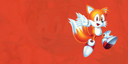 Sonic Mania Tails background