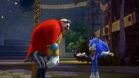 SB S1E38 Eggman Sonic explain