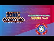Labyrinth of the Sky Zone 1-3 - Sonic Labyrinth