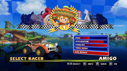Sonic and Sega All Stars Racing character select 04