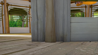 SB S1E08 Sonic's shack porch floor