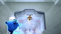 SB S1E08 Tails vs blue Eggman