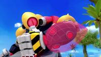 SB S1E19 Giant Robot arm shield