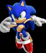 Sonic 06 Sonic art 1