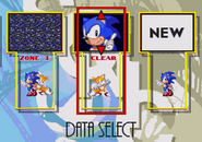Sonic 3 Data Select