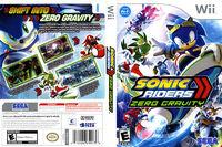 Sonic Riders Zero Gravity Wii Box Art