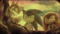 Sonic, Ali Baba and Sinbad ending