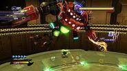 Eggdragoon batallando sonic unleashed