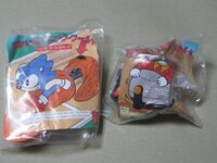 McDonald's Sonic 3 promotion Japan versions