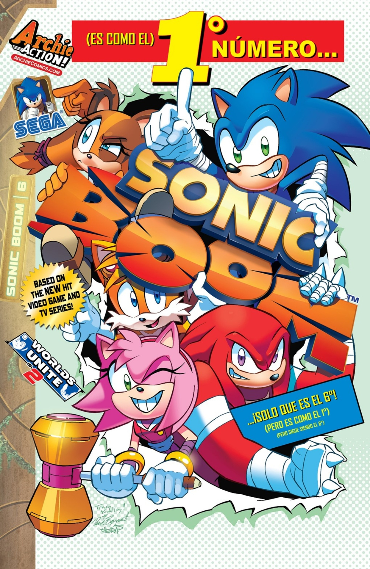 Archie Sonic Boom Issue 06