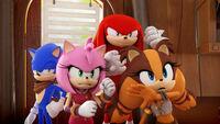 SB S1E02 Team Sonic surprised